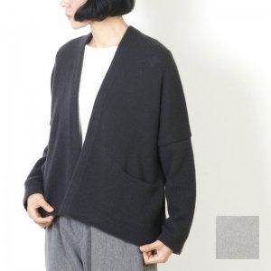 evameva (エヴァムエヴァ) Wool cashmere cardigan / ウールカシミア カーディガン