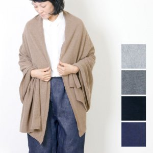 Johnstons (ジョンストンズ) cashmere knitted stole / カシミヤニットストール