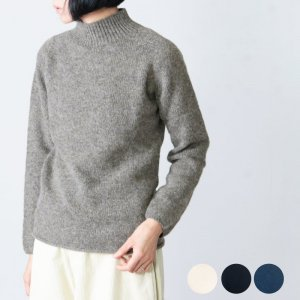 NOR'EASTERLY (ノア イースターリー) L/S MOCK NECK / ロングスリーブ モックネックセーター