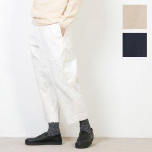 YAECA (ヤエカ) CHINO CLOTH PANTS TUCK STRAIGHT / チノクロスパンツタックストレート