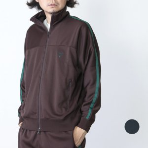 South2 West8 (サウスツーウエストエイト) Trainer Jacket - Poly Smooth / トレーナージャケット