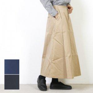 MidiUmi (ミディウミ) タックイージーロングスカート