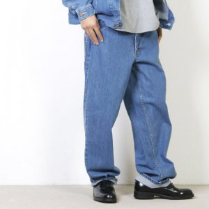 [THANK SOLD] is-ness (イズネス) BAGGY DENIM PANTS / バギーデニムパンツ
