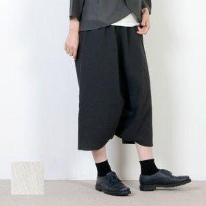 evameva (エヴァムエヴァ) Glen check sarrouel pants / グレンチェック サルエルパンツ