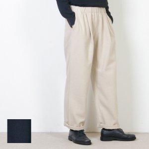 evameva (エヴァムエヴァ) Flannel cotton straight easy pants / フランネルコットン ストレートイージーパンツ