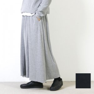 AUGUSTE PRESENTATION (オーギュストプレゼンテーション) コットンシルクパイルスウェットロングスカート
