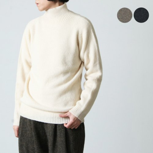 NOR'EASTERLY (ノア イースターリー) NOR'EASTERLY HARLEY MOHAIR CREW NECK SWEATER / ハーレー モヘアクルーネックセーター