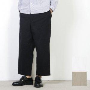 YAECA (ヤエカ) TUCK STRAIGHT CHINO PANTS / タックストレートチノパンツ