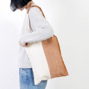 pips (ピップス) HAMMOCK BAG beige natural bicolor / ハンモックバッグベージュナチュラルバイカラー