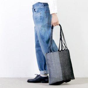 pips (ピップス) HAMMOCK BAG black gray bicolor / ハンモックバッグブラックグレーバイカラー