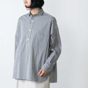 TICCA (ティッカ) スクエアビッグシャツプルオーバー check&stripe
