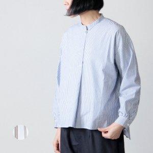 style + confort (スティールエコンフォール) タイプライタードルマンストライプシャツ
