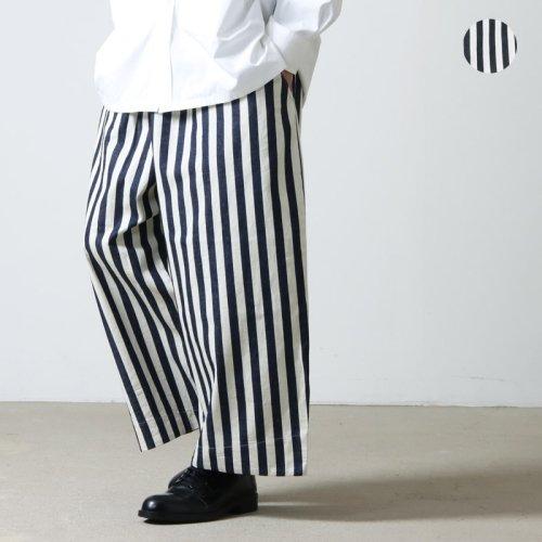 [THANK SOLD] have a good day (ハブアグッドデイ) Stripe volume pants  For Men / ストライプボリュームパンツ