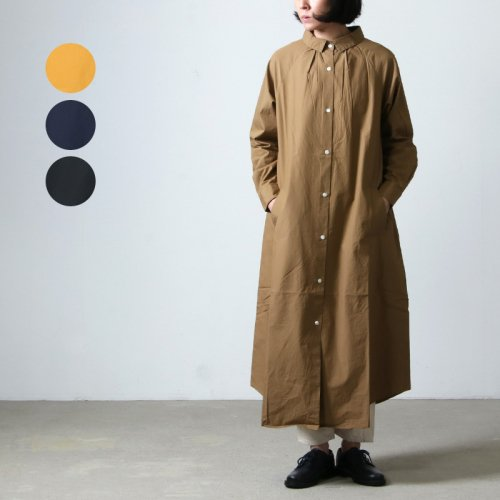 Commencement (コメンスメント) Over shirts onepiece / オーバーシャツワンピース