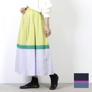 dolly-sean (ドリーシーン) ローンカラー切り替えスカート