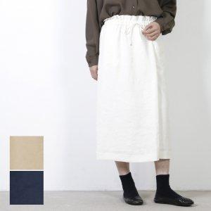 yangany (ヤンガニー) スラブツイルラップスカート