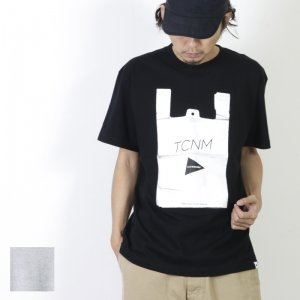and wander (アンドワンダー) TCNM vinalbag T by toconoma for man / TCNM バイナルバッグTシャツ by トコノマ メンズ