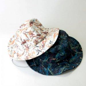 and wander (アンドワンダー) reversible printed hat / リバーシブルプリンテッドハット
