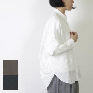 mizuiro ind (ミズイロインド) サイドタックコクーンシャツ