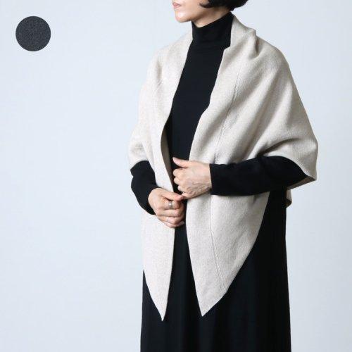 unfil (アンフィル) high twist cotton knit small beret / ハイツイストコットンニットスモールベレー