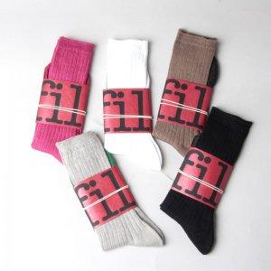 unfil (アンフィル) french linen thin socks / フレンチリネンリブソックス