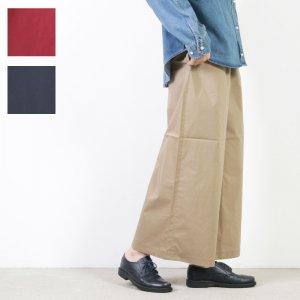 mizuiro ind (ミズイロインド) ワイドイージーパンツ with belt