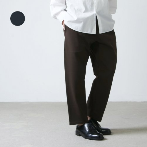 YAECA (ヤエカ) MOCK LODI JERSEY TAPARED PANTS / モックロディ ジャージーテーパードパンツ