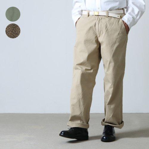 MASTER & Co. (マスターアンドコー) LONG CHINO PANTS size:S、M / チノパンツ S、Mサイズ