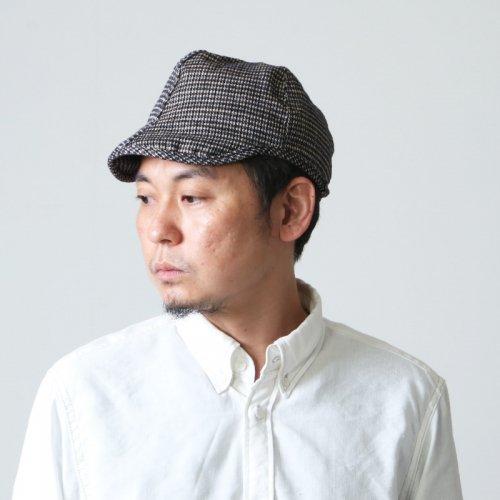 TATAMIZE (タタミゼ) WORK CAP HOUNDSTOOTH / ワークキャップ 千鳥
