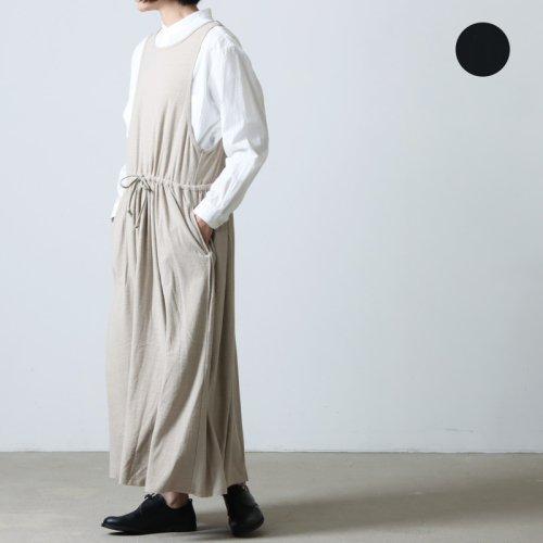 unfil (アンフィル) cotton linen tweed gathered skirt / コットンリネンギャザースカート