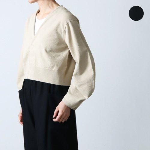 unfil (アンフィル) cotton linen tweed marine pants / コットンリネンツイードマリンパンツ