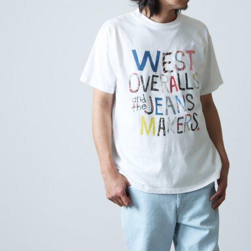 WESTOVERALLS (ウエストオーバーオールズ) WEST'S T-SHIRTS