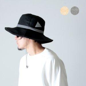 and wander (アンドワンダー) paper cloth hat / ペーパークロスハット