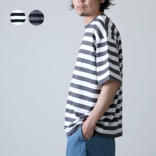 Graphpaper (グラフペーパー) Boader S/S Tee / ボーダーショートスリーブTシャツ