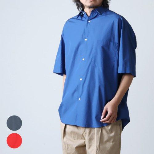 Graphpaper (グラフペーパー) Broad S/S Oversized Regular Collar Shirt