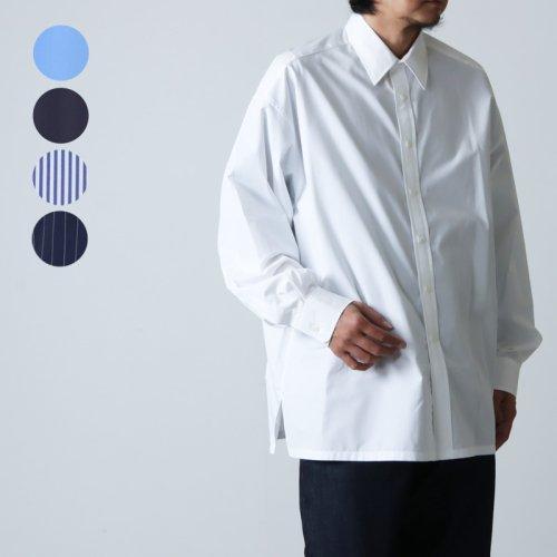 Graphpaper (グラフペーパー) Broad Regular Collar Oversized Shirt / ブロードレギュラーカラー オーバーサイズシャツ