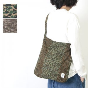 South2 West8 (サウスツーウエストエイト) Book Bag -Printed Flannel / Camouflage / ブックバック