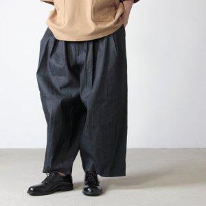 [THANK SOLD] is-ness (イズネス) BALLOON EZ PANTS DENIM / バルーンイージーパンツ デニム