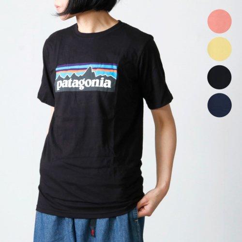 PATAGONIA (パタゴニア) Boys' P-6 Logo Organic T-Shirt / ボーイズ P-6ロゴ オーガニック Tシャツ