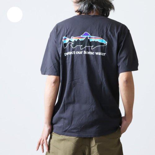 PATAGONIA (パタゴニア) M's Shop Sticker Responsibili-Tee / ショップ ステッカー レスポンシビリティー