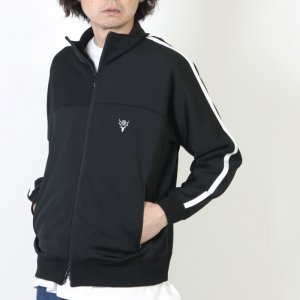 [THANK SOLD] South2 West8 (サウスツーウエストエイト) Trainer Jacket - Poly Smooth / トレーナージャケット
