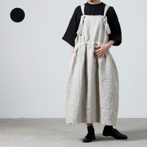 ICHI Antiquites (イチアンティークス) 水撚りリネンストライプシャツ