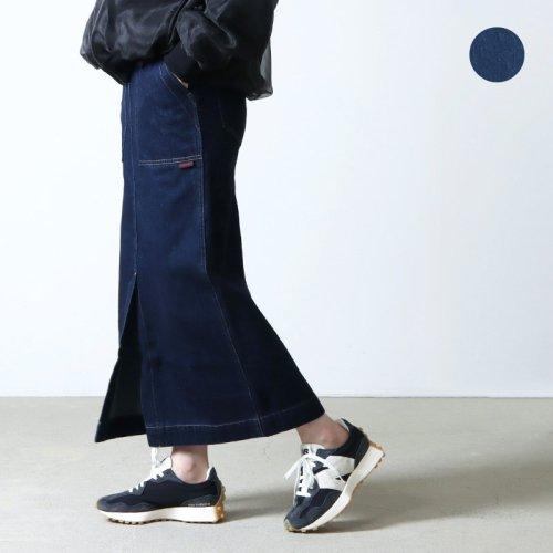 GRAMICCI (グラミチ) DENIM BAKER SKIRT / デニムベイカースカート