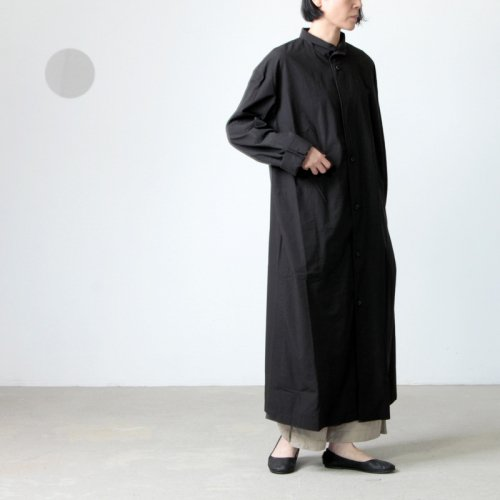 THE HINOKI (ザ ヒノキ) コットン馬布 シャツドレス