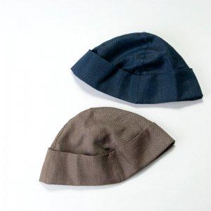 TATAMIZE (タタミゼ) BOWL CAP LINEN / ボールキャップ リネン