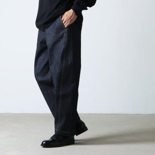 STUDIO NICHOLSON (スタジオニコルソン) COCKLE SHORT SLEEVE CAMP COLLAR SHIRT PAPER POPLIN / キャンプカラーシャツ