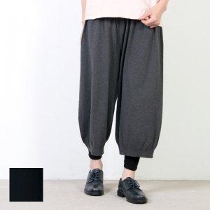 evameva (エヴァムエヴァ) High twist cotton pants / ハイツイストコットンパンツ