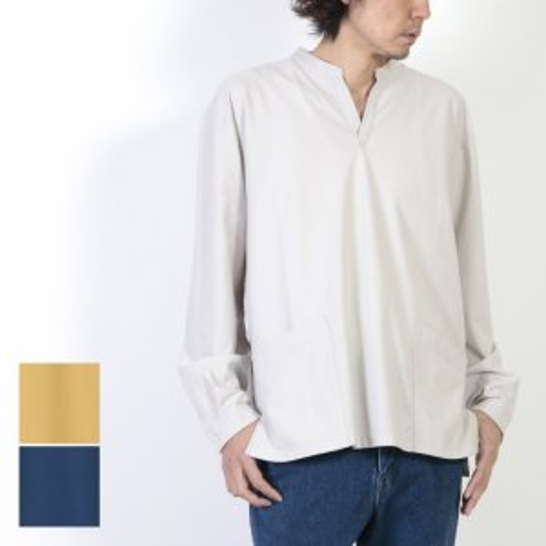 CURLY (カーリー) NOMADIC LS SMOCK SHIRTS / ノマディックロングスリーブスモックシャツ