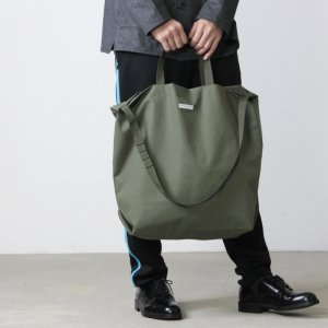 ENGINEERED GARMENTS (エンジニアードガーメンツ) Carry All Tote - Acrylic Coated Nylon Taffeta / キャリーオールトート