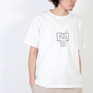 YAECA (ヤエカ) Ken Kagami PRINT TEE-junk- / ケンカガミ プリントTシャツ ジャンク